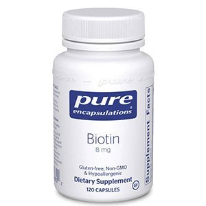 Biotin 120 caps Pure Encapsulations