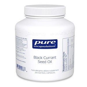Black Currant Seed Oil 250 mg Pure Encapsulations