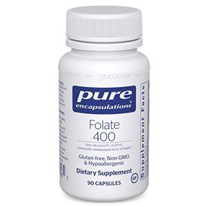 Folate 400 mcg Pure Encapsulations