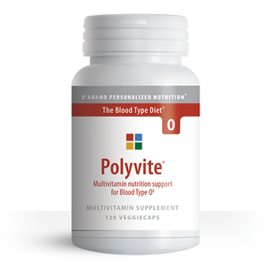 Polyvite O D'Adamo Personalized Nutrition