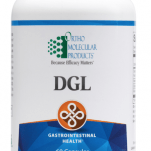 DGL 60 Capsules Ortho Molecular Products