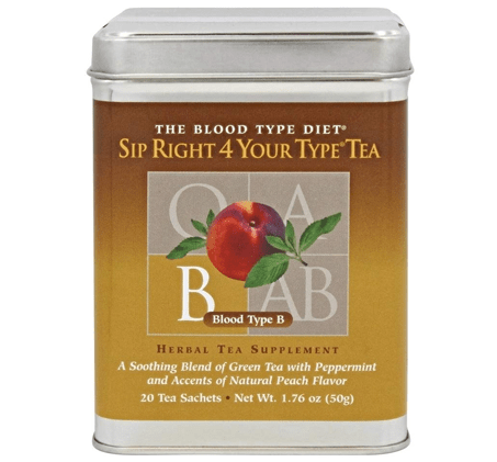 Sip Right 4 Your Type Tea B