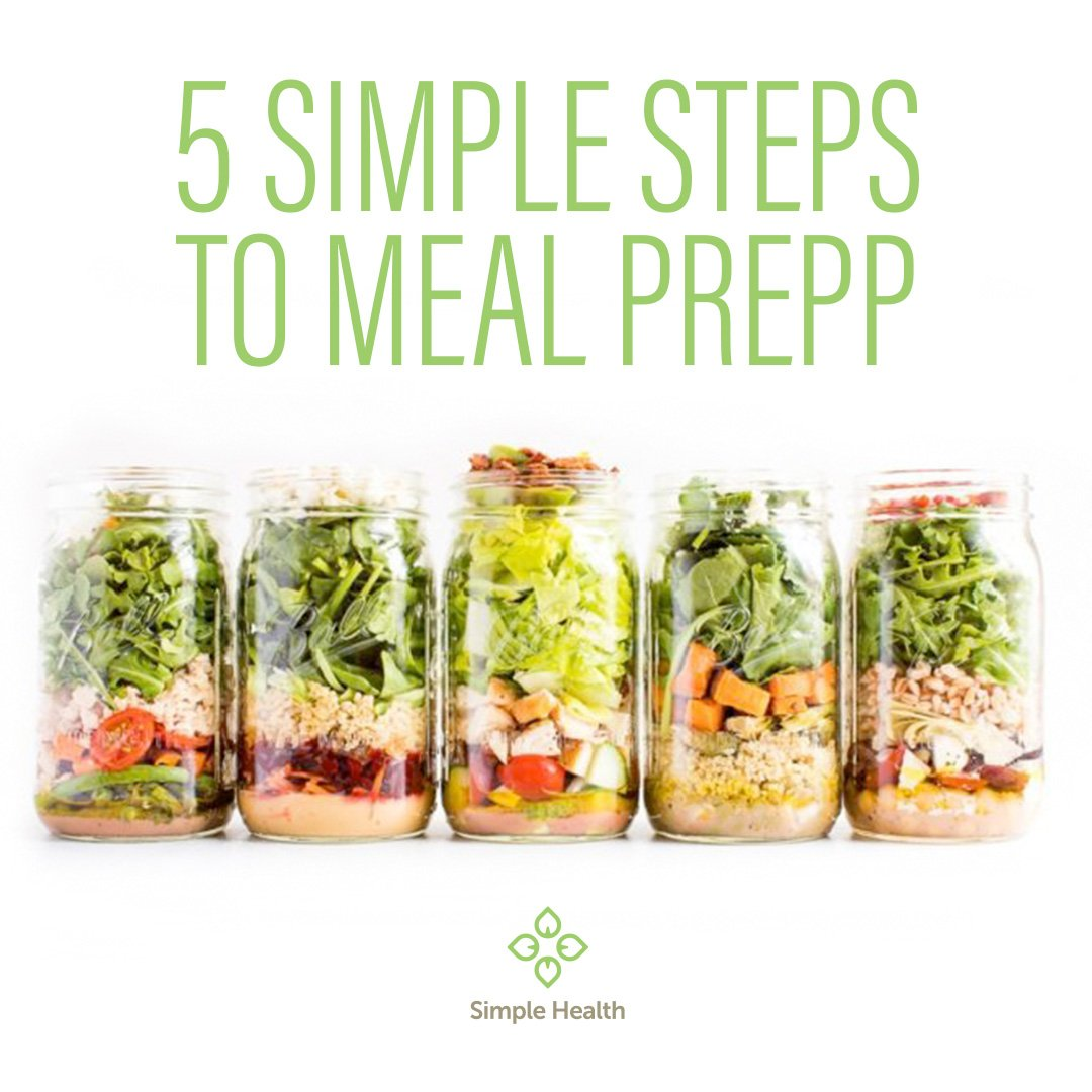 5 Simple Steps to Meal Prep