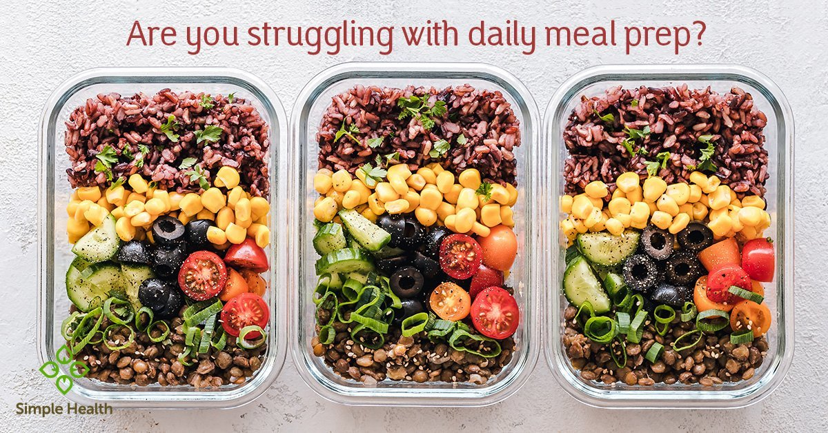 Are you struggling with daily meal prep?