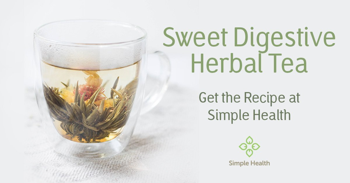 Make this Herbal Tea to Support Digestion