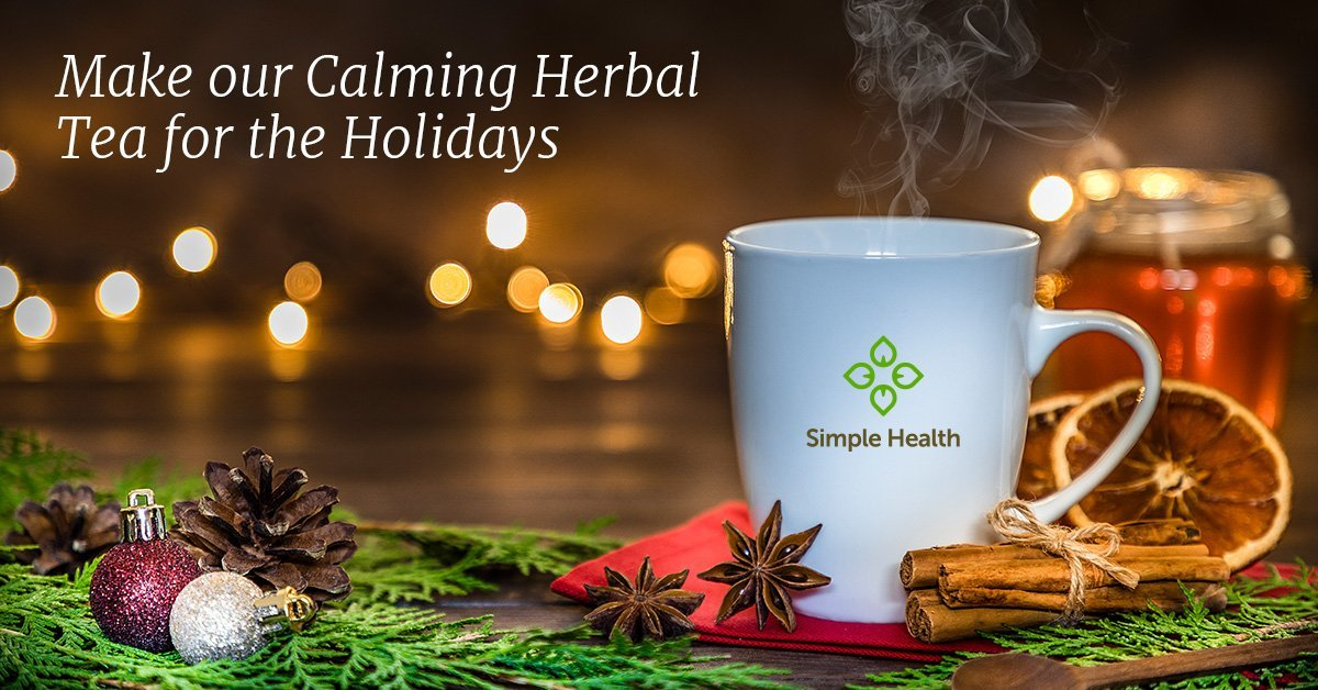 Calming Herbal Tea for Holidays