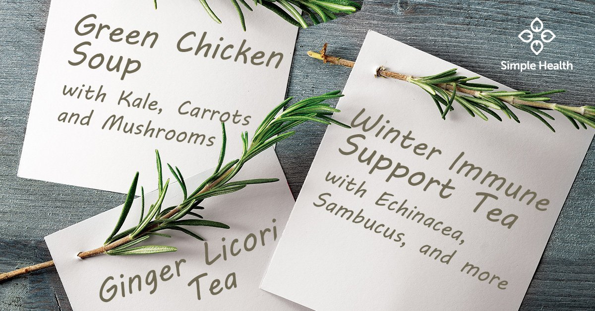 Simple Recipes for Soup, Teas, and Bath Salts