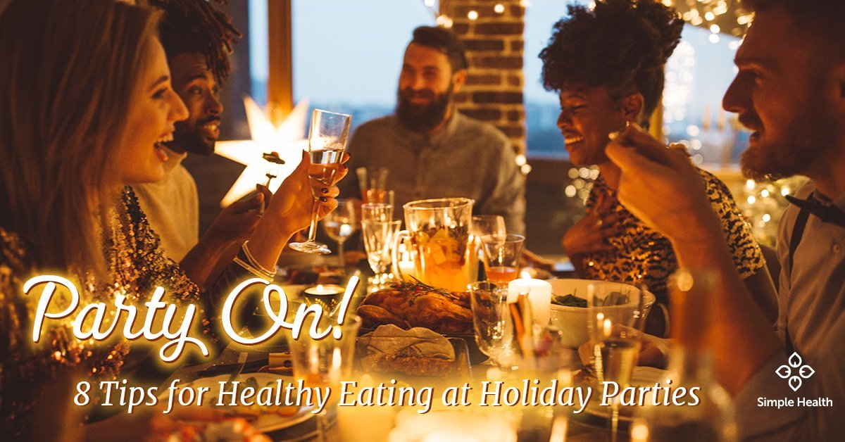 8 Tips for Healthy Eating at Holiday Parties