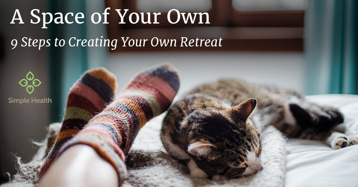 9 Steps to Creating Your Own Retreat