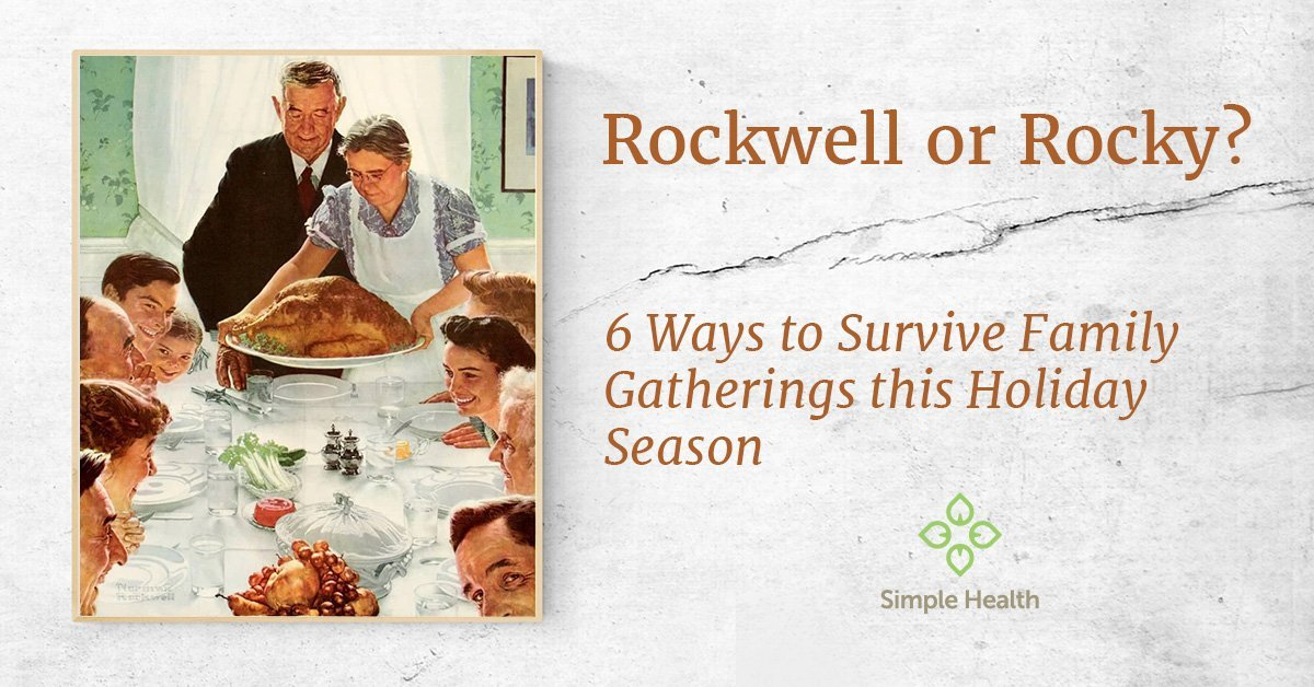 6 Ways to Survive Family Gatherings this Holiday Season