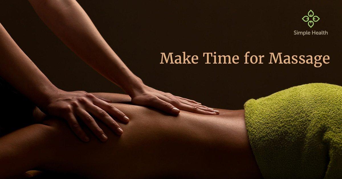 Make Time for Massage