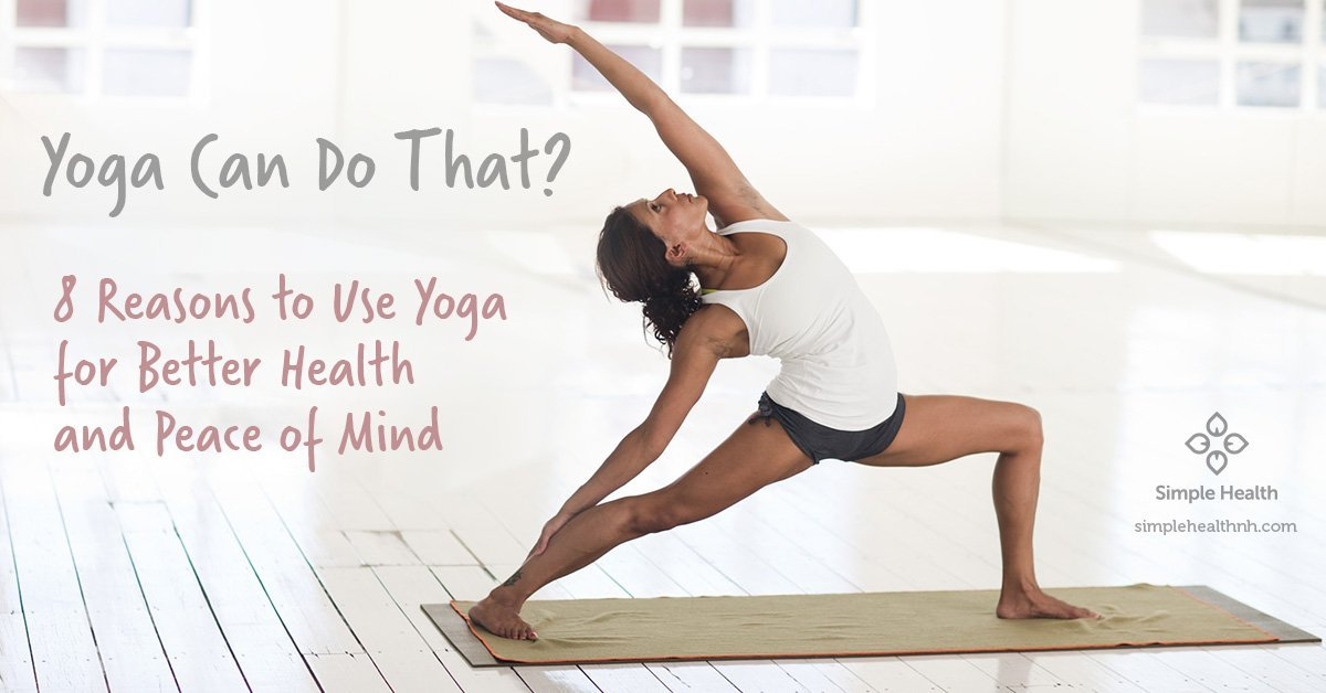 Yoga Can Do That?