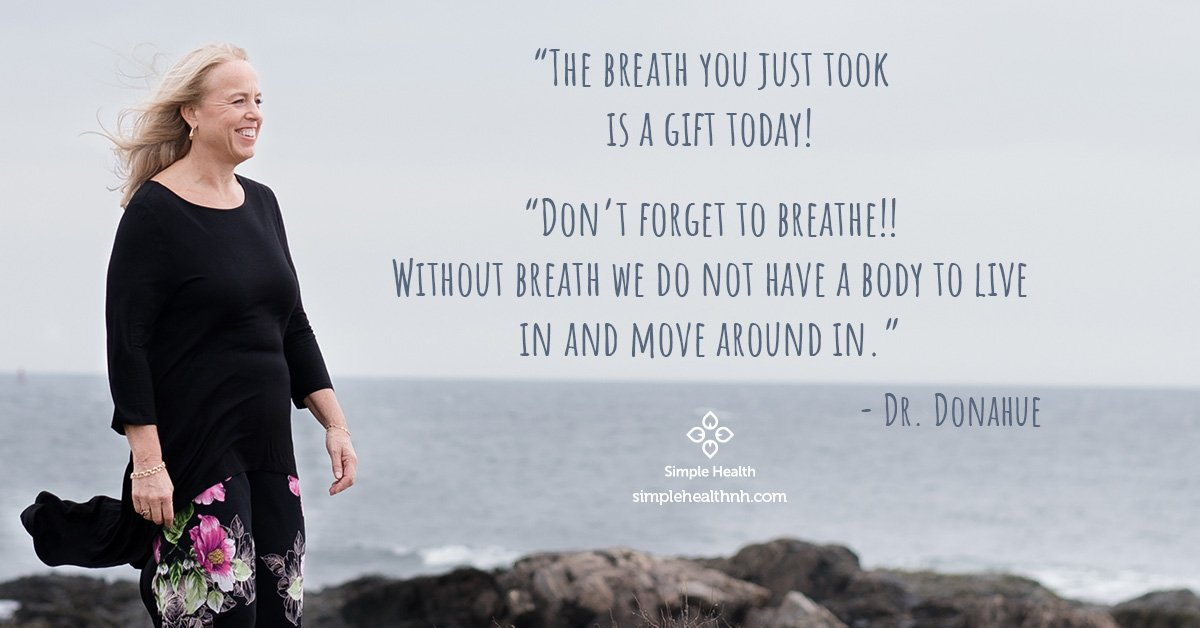 The breath you just took is a gift today!