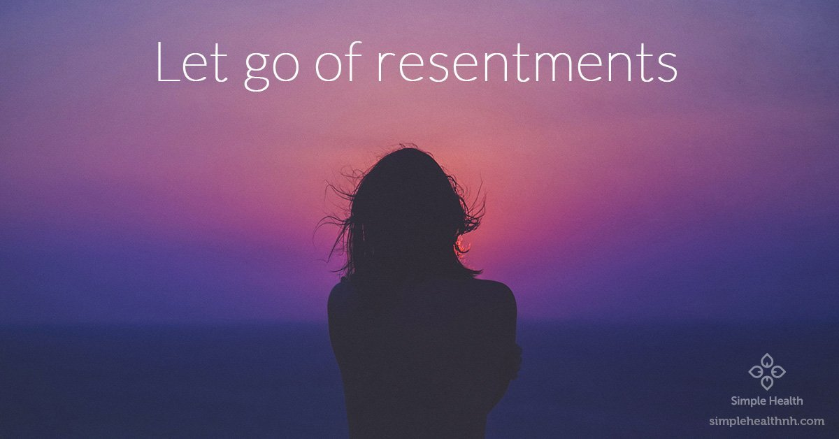Letting Go of Resentments