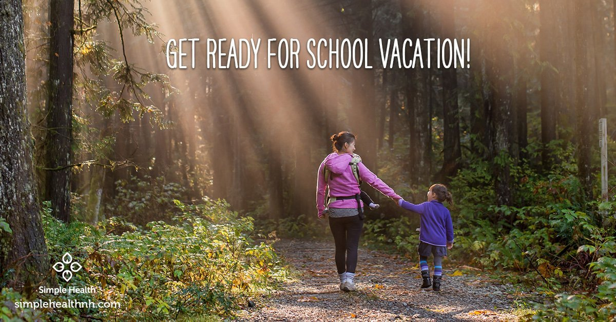 Get Ready for School Vacation!