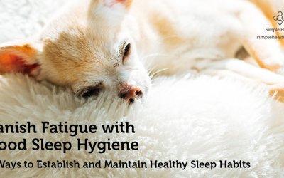 Banish Fatigue with Good Sleep Hygiene