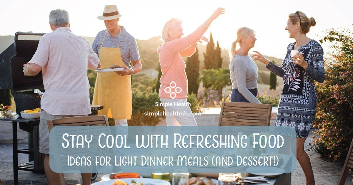 Stay Cool with Refreshing Food