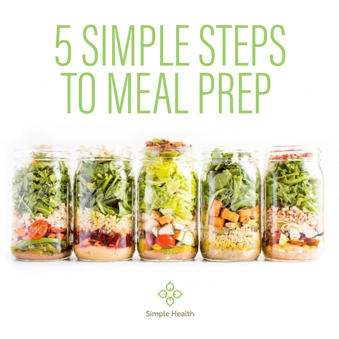 5 Simple Steps to Meal Prep